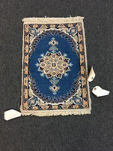 On Sale Fine Hand Knotted Persian Naein Naeen Wool Rug Carpet 1 4 X1 11
