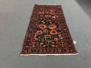On Sale Beautiful Hand Knotted Persian Area Rug Geometric Carpet 3 7 X7 8 3416