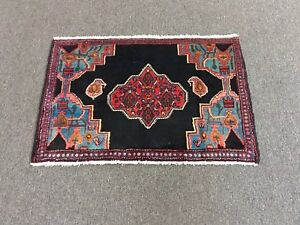 On Sale Beautiful Hand Knotted Persian Area Rug Geometric Carpet 2 2 X3 3 3279