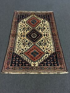 On Sale Great Hand Knotted Persian Shirazz Yalameh Rug Carpet 3x5 3 4 X5 1