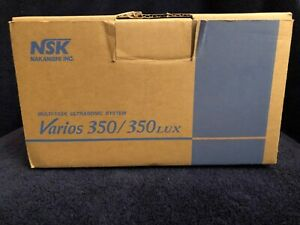Nsk Varios 350 Lux Ultrasonic Scaler brand New never Used orginal Manual