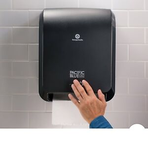 Ultra Automated Paper Towel Dispenser 59590 12 9 W X 8 7 D By 15 5 H Black