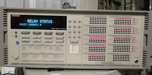 Keithley Instruments 7002 Electronic Switch System Serial 0633950