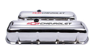 Proform 141 813 Valve Covers Steel Tall W Logo Fits Big Block Chevy
