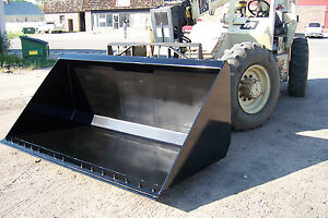 New 1 5 Yard Bucket Made To Order For Telehandler Can Fit Cat Ingersoll Rand