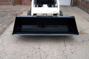 New 84 Bucket For Skid Steer Can Fit John Deere And Quick Tach Hitch