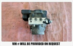 2012 Toyota Camry Abs Pump Anti lock Brake Actuator Assembly 44540 06140