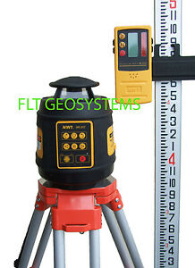 Northwest Nrl802 Self level Rotating Rotary Laser Complete Package