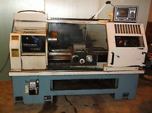 Prototrak 1840 Cnc Lathe Lx3 Control Nice Southwestern Industries Video Link