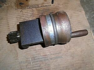Clausing Colchester 13 Lathe Carriage Cross Feed Gear Knob Assembly
