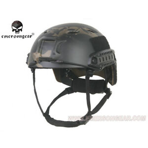 Emerson ABS Tactical Fast Helmet Base Jump BJ Type Protective Airsoft CS Gear