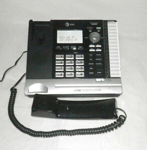 At t Ms2085 4 line Office Business Phone Main Console Box manuals