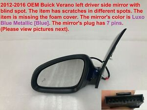 2012 2016 Buick Verano Left Side Mirror With Blind Spot 61