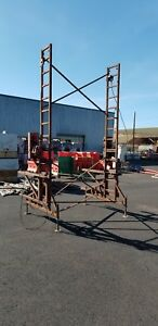 Ez Non Stop Heavy Duty Crank Up Scaffolding 31 Tall Or More
