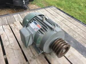 Reliance Electric 10hp Motor P21f312 1735rpm 230 460v Frame 215t