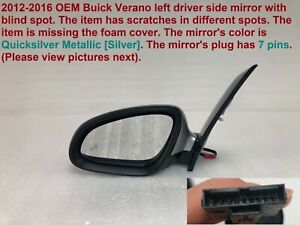 2012 2016 Buick Verano Left Side Mirror With Blind Spot 64