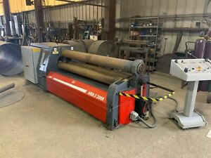 Plate Roll Year 2014 Durma jmt Hrb 3 2008 6 6 X 1 4 Capacity