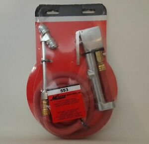 Milton 553 Heavy duty Truck Tire Inflator Gauge With 5 Ft Air Hose New