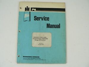 Briggs Stratton Engine Fuel Electrical Systems Blue Ribbon Service Manual Vtg