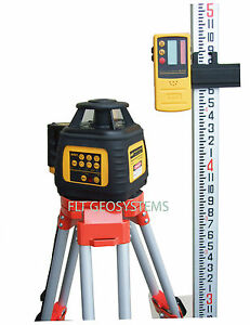 Northwest Nrl602 Self level Rotating Rotary Laser Complete Package