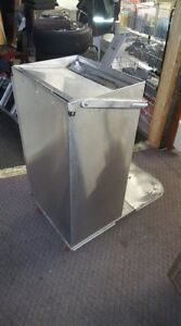 Royce Rolls Stainless Janitorial Cart Parts Base Floor Folding
