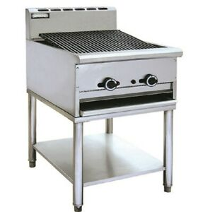Pantin Commercial 24 Gas Radiant Grill Charbroiler With Stand Charcoal Nsf