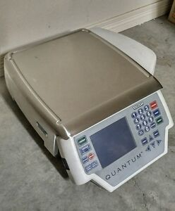 Hobart Quantum Qmax Digital Scale Printer Deli Food Portion Control Meat Pos