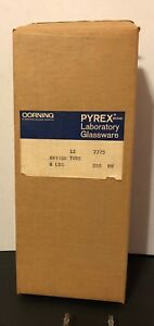 Qty 12 Corning Pyrex Drying Tube No 7775 8 Lbs 200 Mm New In Open Box