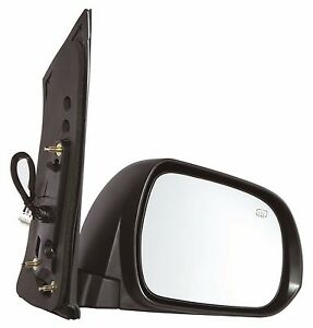 For 2011 2012 2013 Toyota Sienna Power Heated Side Mirror Passenger Side