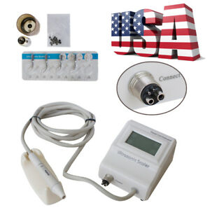 Portable Dental Built in Ultrasonic Piezo Scaler 2hole F Chair Scaling Handpiece