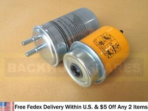 Jcb Parts Fuel Filter Kit Primary Secondary 32 925694 320 07155 320 07394