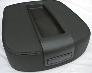 2007 2014 Silverado Sierra Center Console Top Lid Kit Armrest Storage Black