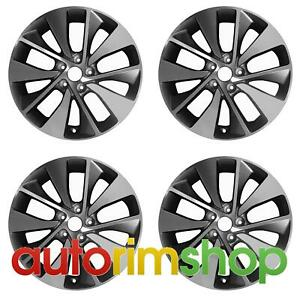 Kia Optima 2016 2017 2018 18 Oem Wheel Rim Set 52910d4310
