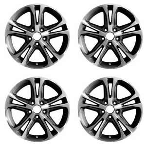 Ford Mustang 2013 2014 17 Oem Wheel Rim Set