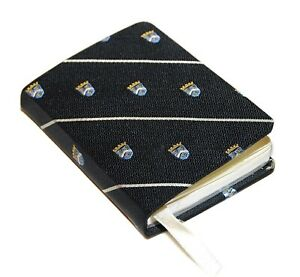 125 Polo Ralph Lauren Rugby Vintage Mini Note Pad Journal Diary Black Silver