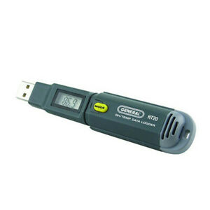Temperature Humidity Gpp Usb Data Logger With Lcd Screen