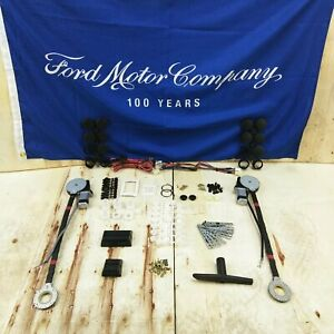 1964 73 Ford Mustang Electric Power Window Conversion Kit 3 Illuminated Switches