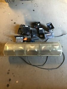Bulk Lot Code 3 Whelen Police Lights Switches Controls Sirens Speaker Fire Tow
