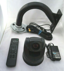 tested Sony Evi d70 Pan tilt zoom Camera Skype Webcam With Mounting Hardware