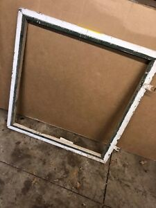 Antique Farmhouse Wood Window Sash Lot C