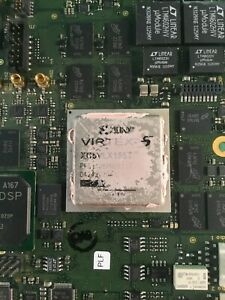 Xilinx Virtex 5 Xc5vlx155t On The Board