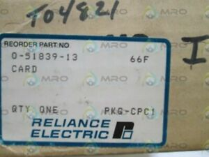 Reliance Electric Pc Board Relay Card 0 51839 13 Nsmp