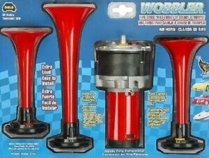 Wolo 410 Wobbler Wild Turkey Air Horn With 2 Extra Loud Tone 12 V