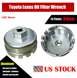 64mm Oil Filter Cap Wrench For Toyota Camry Corolla Highlander Rav4 L