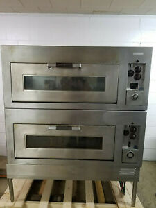 General Electric Double Stack Stone Deck Oven New Stones 220volt 3phase Tested