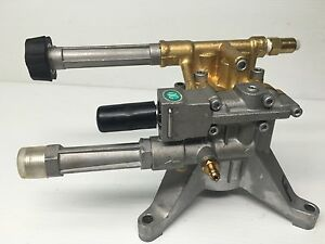 Homelite Upgraded Brass Head 3000 Psi Pressure Washer Pump Front Pipe Connection
