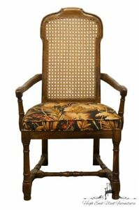 Drexel Heritage Italian Provincial Cane Back Dining Arm Chair 132 830