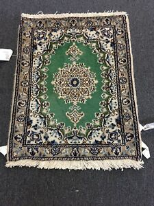 On Sale Fine Hand Knotted Persian Naein Naeen Wool Rug Carpet 2 X2 6