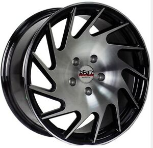 4 Four 17 Drift Racing 17x7 5 38 Cb 73 10 4 5 Lug Honda Toyota Wheel Rims