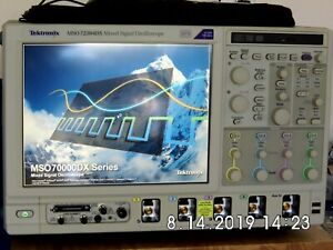 Tektronix Mso72304dx 23ghz 100gs s 4 16 Channel Mixed Signal Oscilloscope Mso